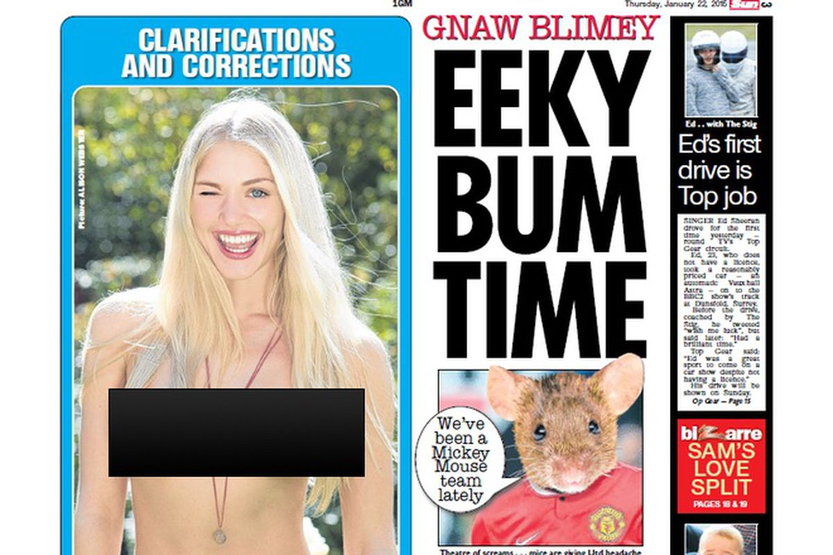 Best Sun Page 3 Of >> Britain S Biggest Newspaper Will Still Print Topless Page 3