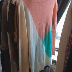Sample Top Secret Society sweater, $20