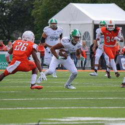 Sergio Bailey on his way to 71 yards