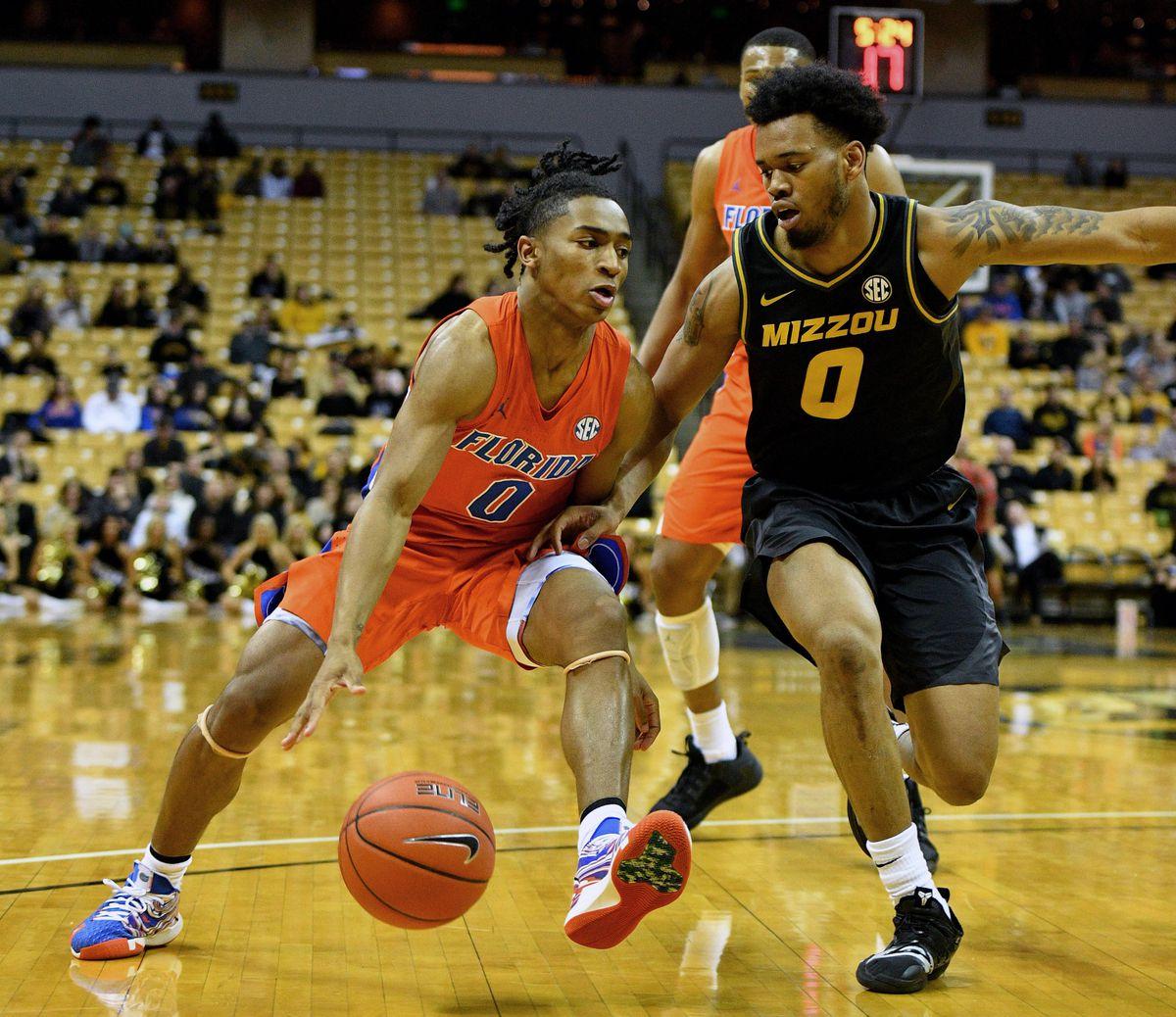 NCAA Basketball: Florida at Missouri