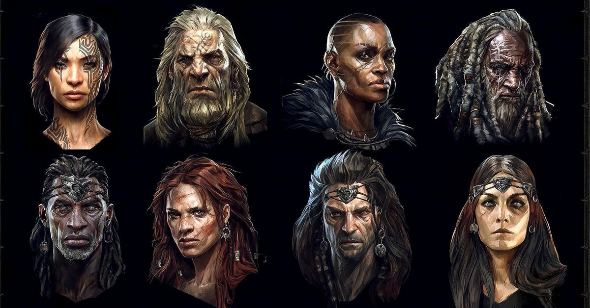 Diablo 4 adds customizable skin tones and faces