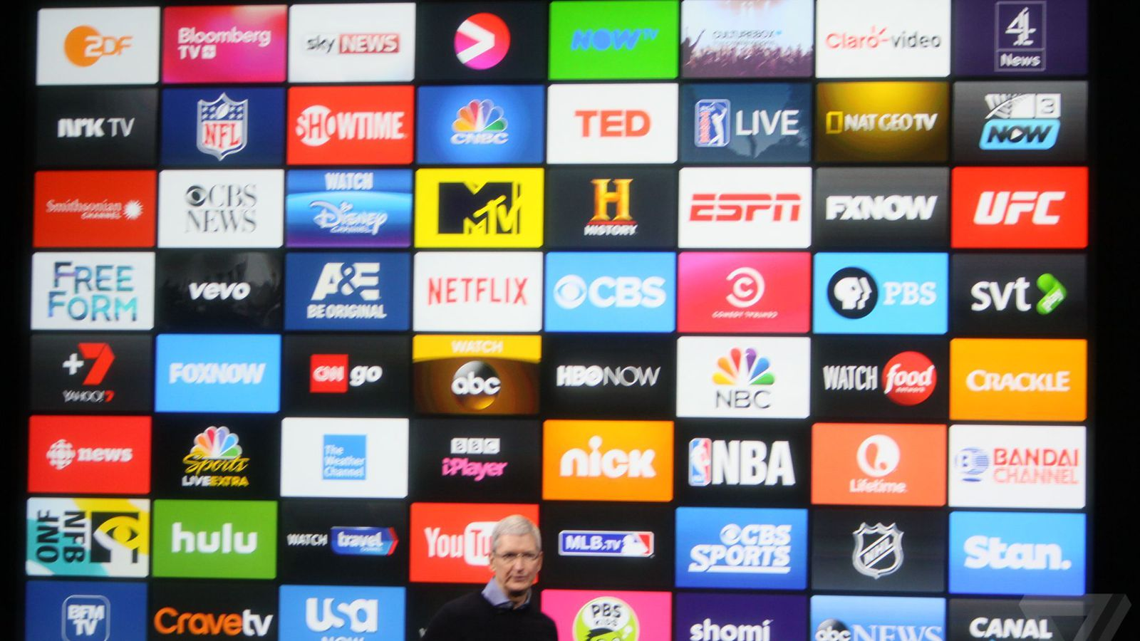 podcast app iphone the new apple tv already has 5 000 apps the verge 5000