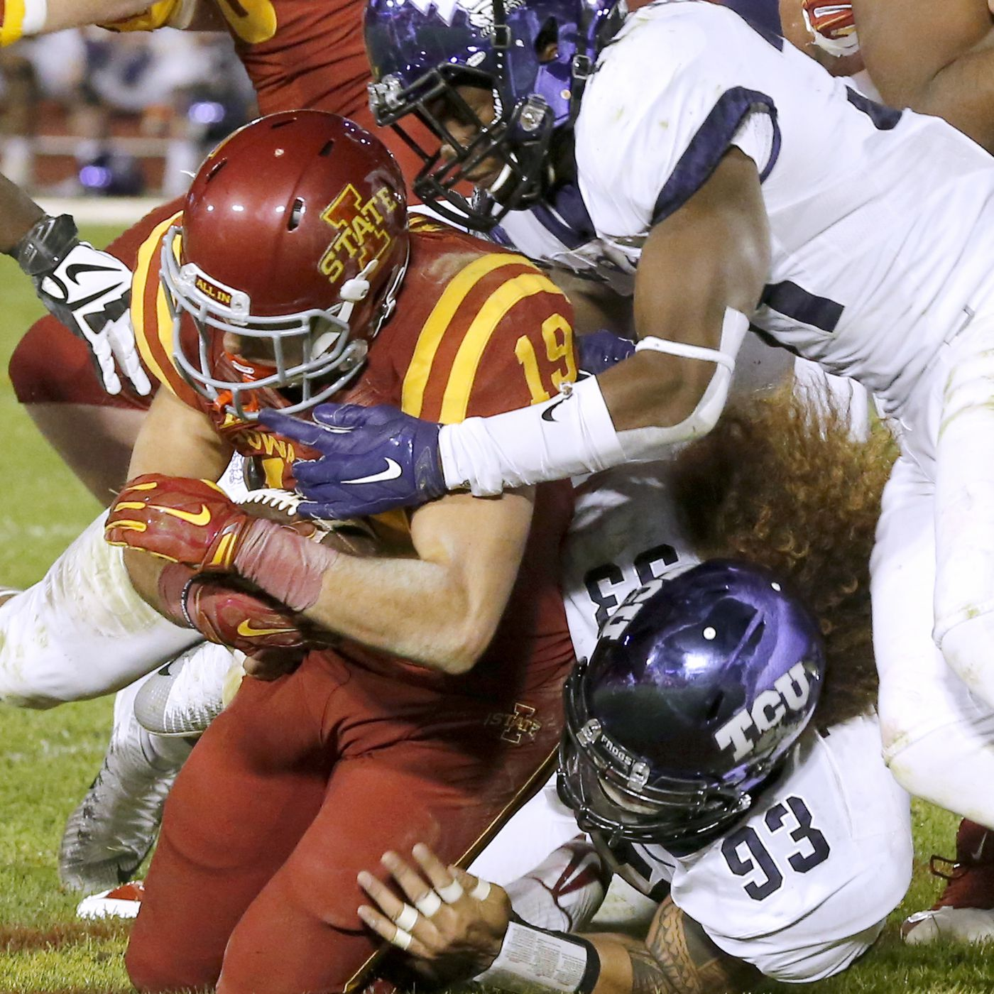 be4c283fde7f6 Iowa State Cyclones vs. TCU Horned Frogs Preview - Wide Right ...