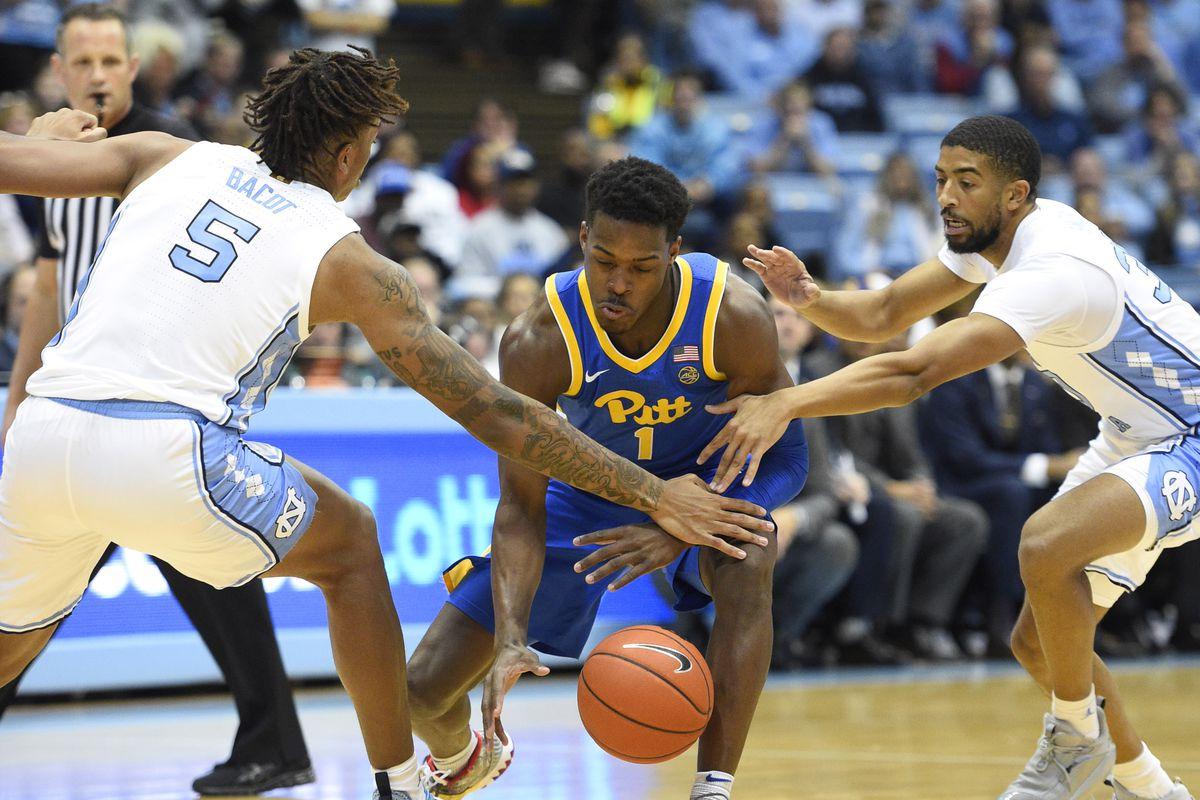Pitt Defeats North Carolina 73 65 Cardiac Hill