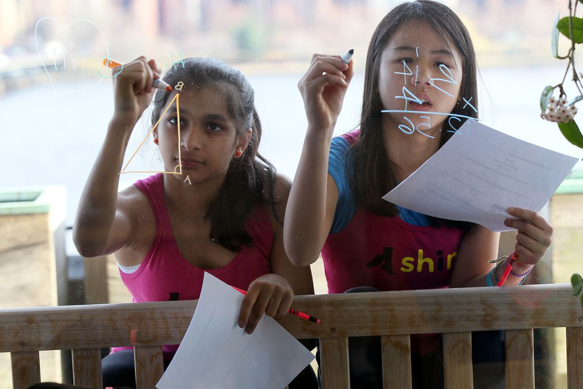 These girls might not end up working in STEM occupations. Maybe that's OK.