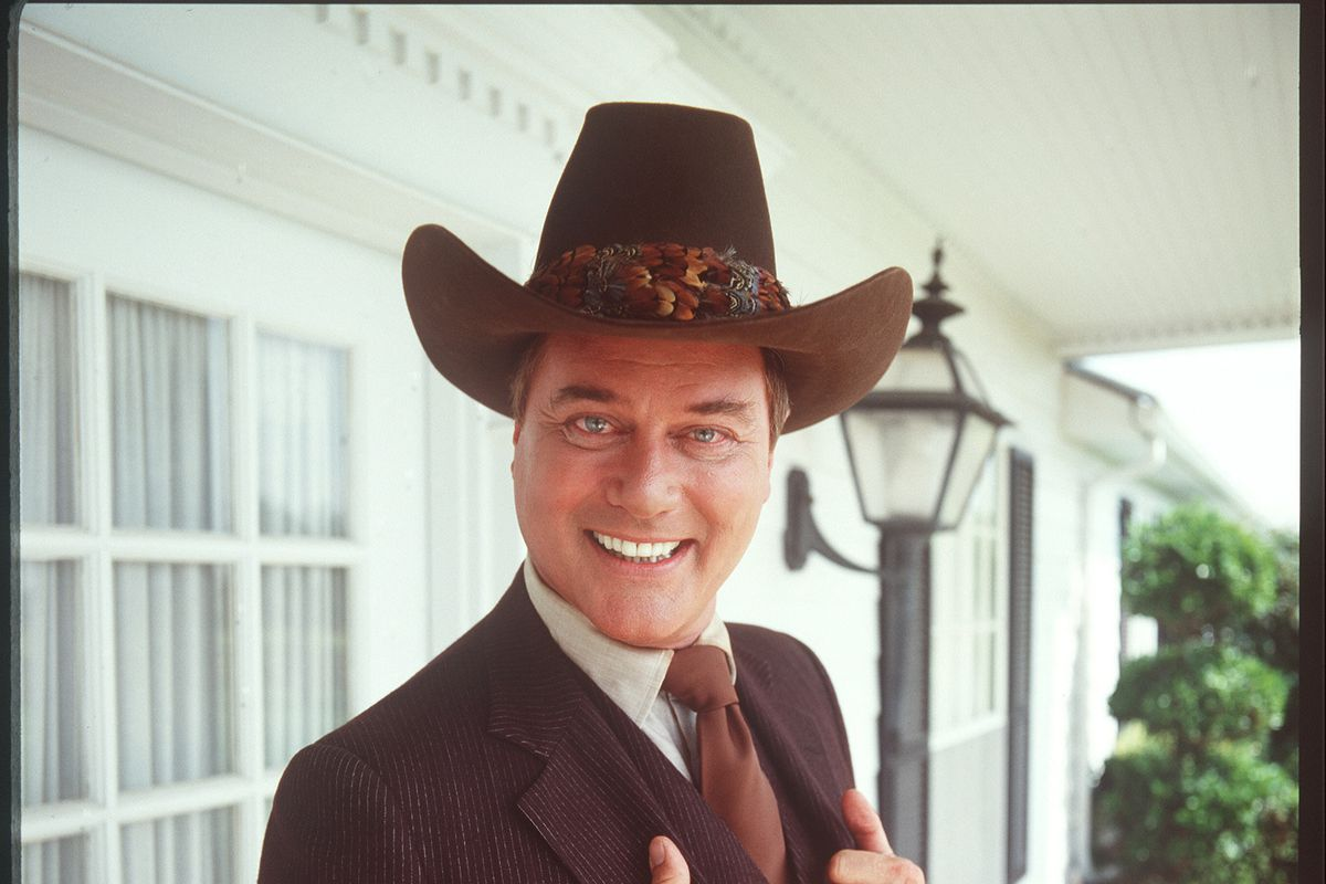 Larry Hagman In 'Dallas'