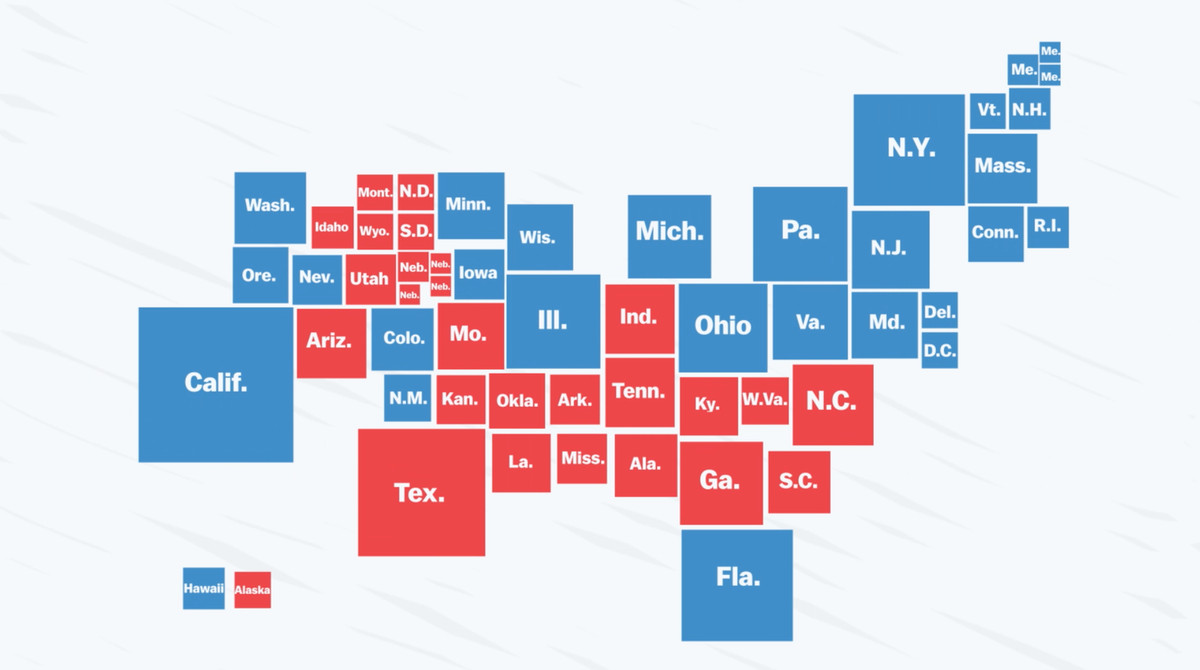 vox s liz scheltens adapted this 2012 electoral map from the new york times