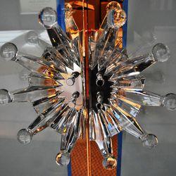 The very Lalique door handles.