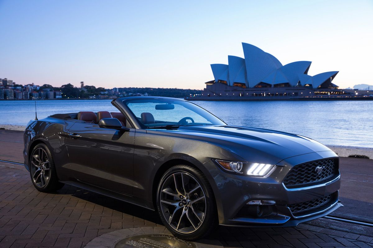The ford mustang is the best selling sports car in the world