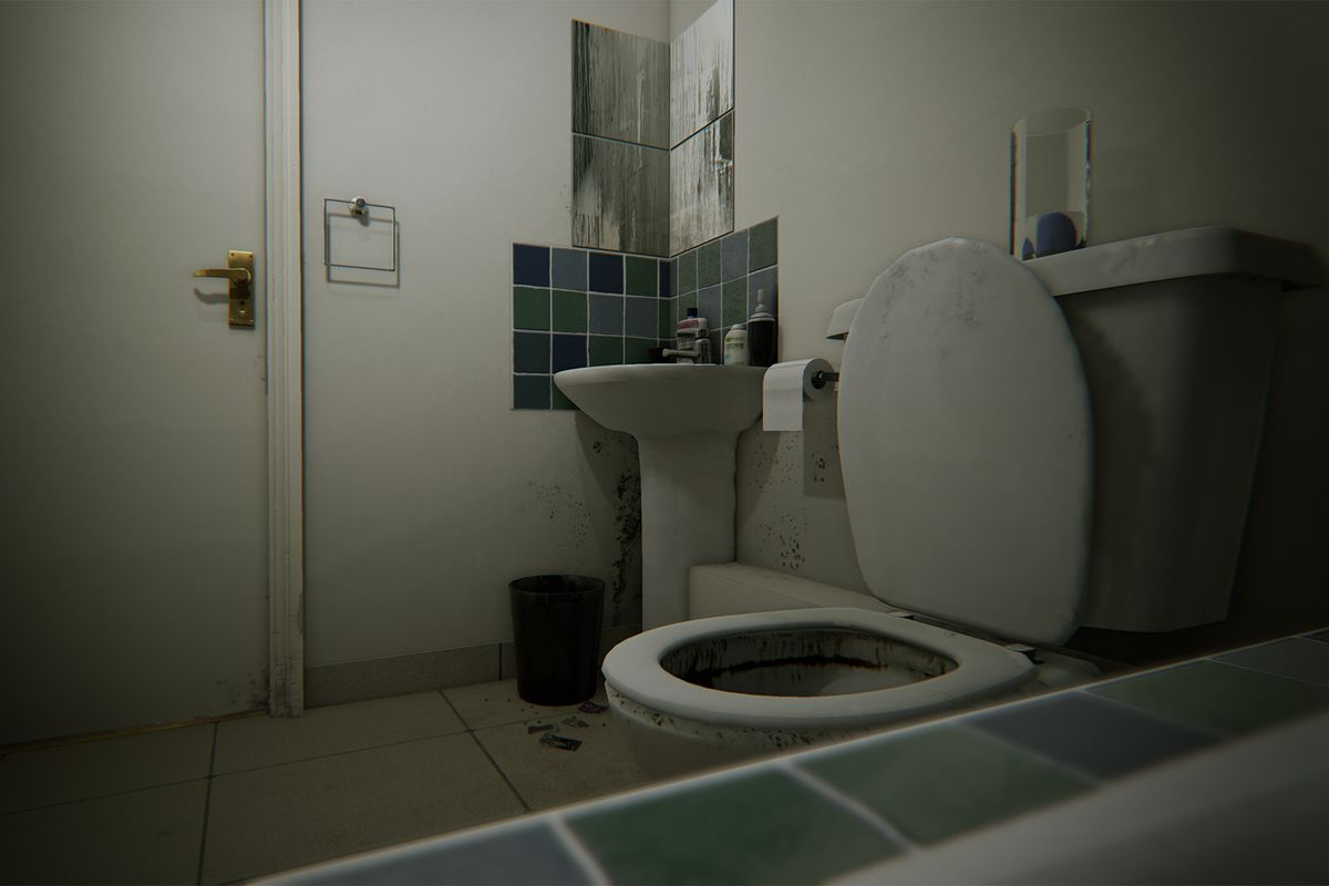 bathroom horror game allison road horror compared to p t is canceled 10085