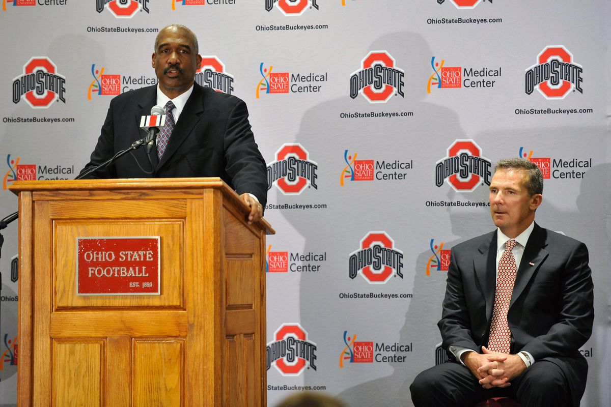 Ohio State Introduces Urban Meyer
