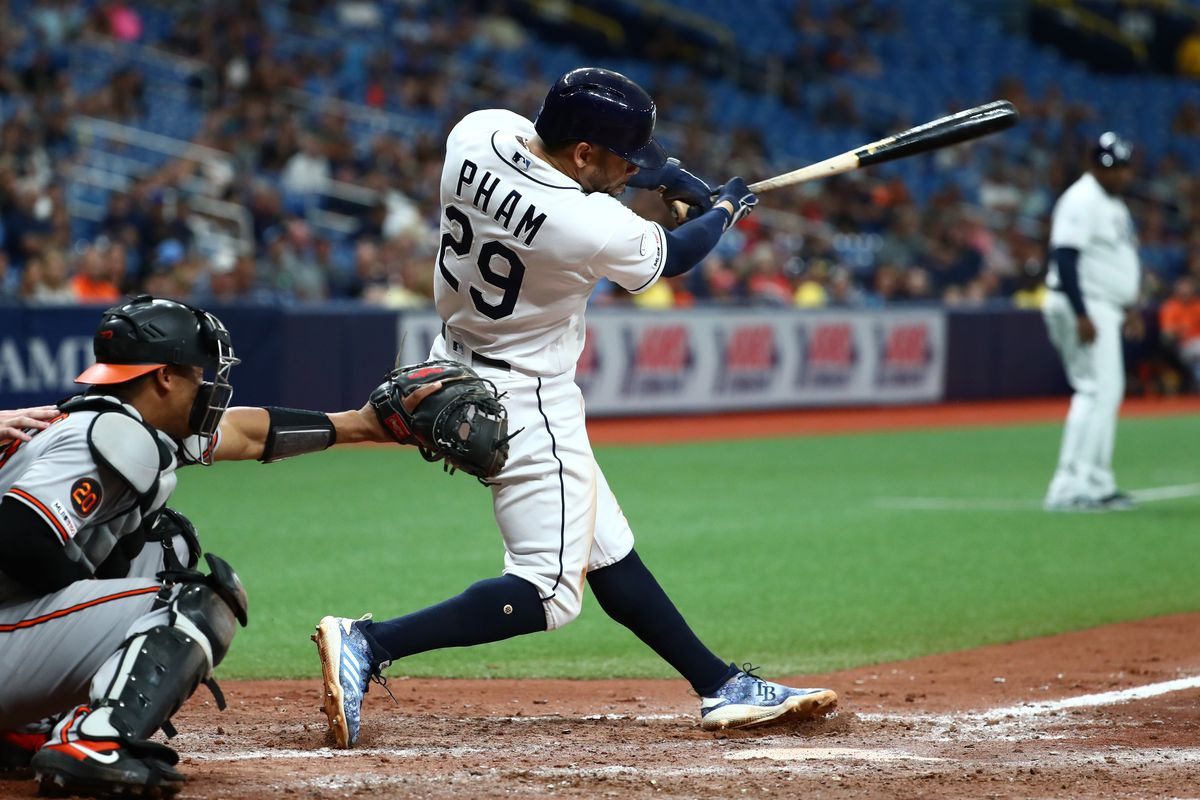 sports shoes b2c3a ce691 Baltimore Orioles: 4, Tampa Bay Rays: 5 - Phamtastic Phinish ...