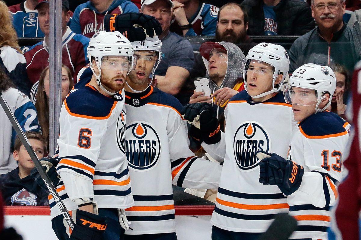 NHL: Edmonton Oilers at Colorado Avalanche
