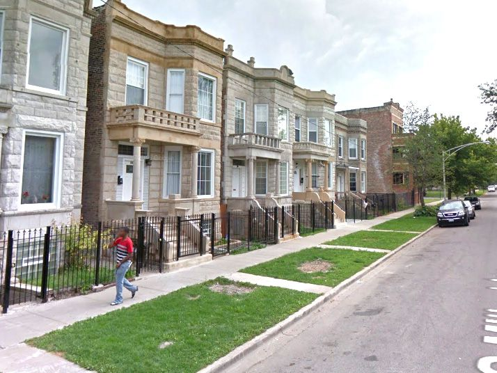 Two men were shot early Saturday in the 1400 block of South Millard in the North Lawndale neighborhood.   Google Maps