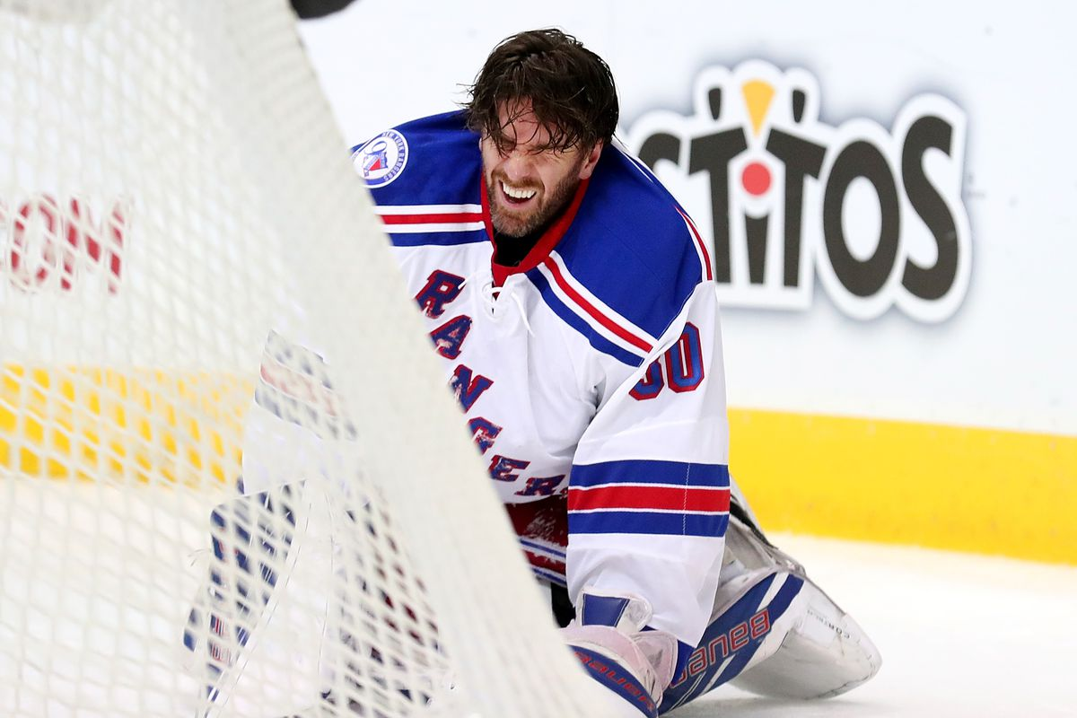 Cody Eakin Ejected For Charging Henrik Lundqvist Suspension Almost