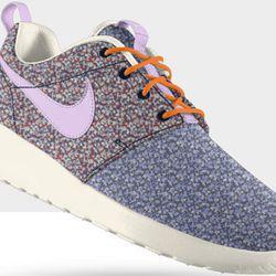 "<b>Nike Liberty London</b> Roshe Run, <a href=""http://store.nike.com/us/en_us/product/roshe-run-liberty-id-shoes/?piid=31879&pbid=1050192752#?pbid=1050192752"">$130</a>"
