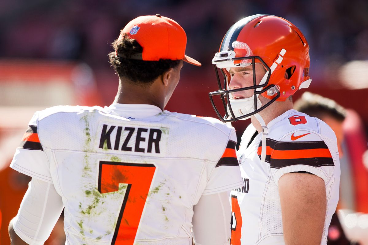 Browns bench DeShone Kizer, immediately score a touchdown