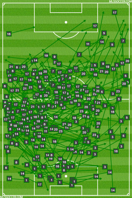Paraguay passing map