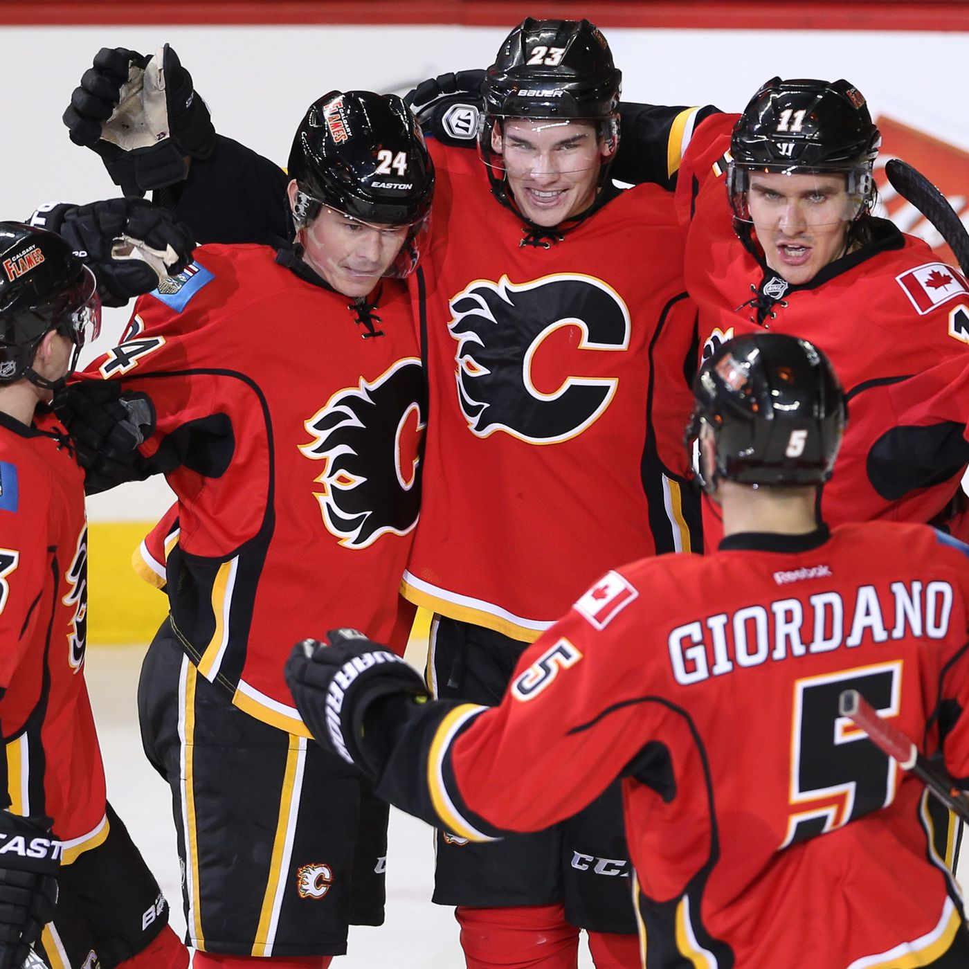 6858397c7 M G GameTime Preview  Flames Host Blues - Matchsticks and Gasoline