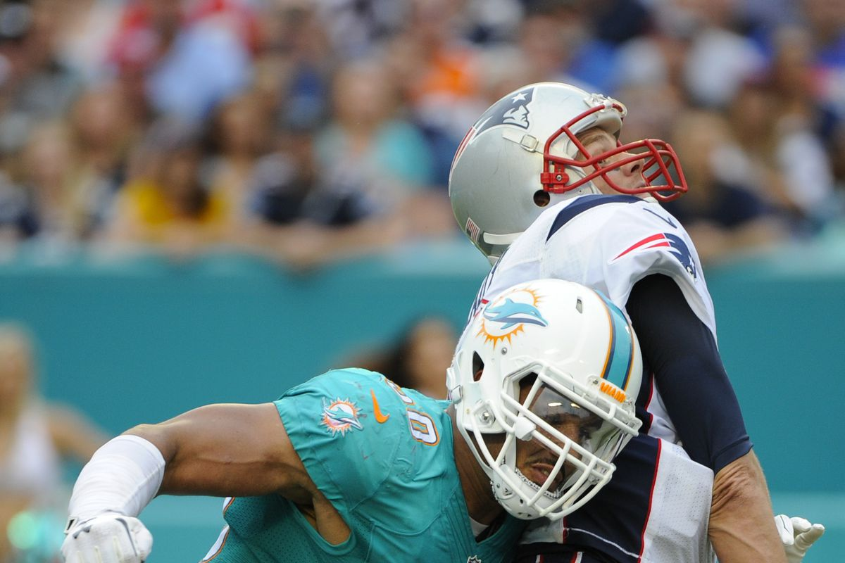 NFL: JAN 03 Patriots at Dolphins