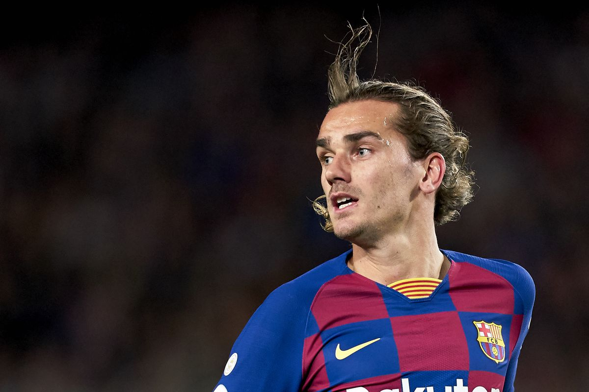 Barcelona forward Antoine Griezmann says he doesn't know how to dribble