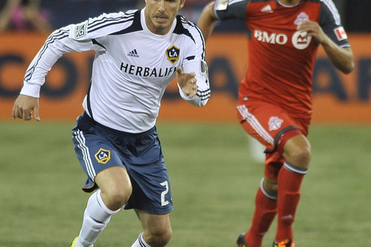 030be498616 LA Galaxy Uses Starters Vs. Toronto FC In CCL - Black And Red United