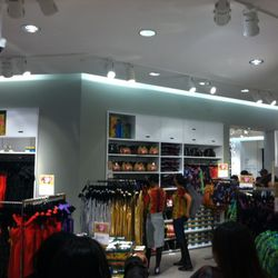 The women's section