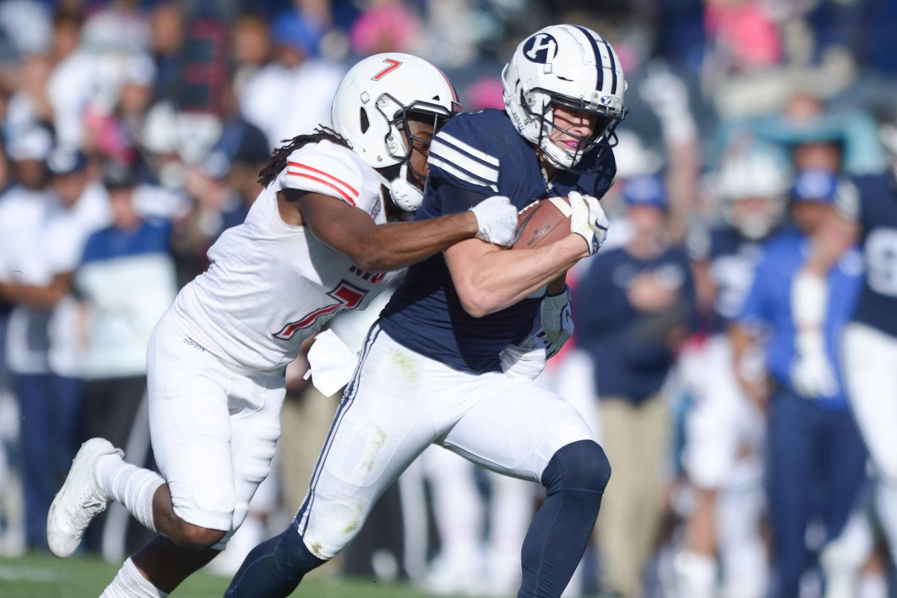 COLLEGE FOOTBALL: OCT 27 Northern Illinois at BYU