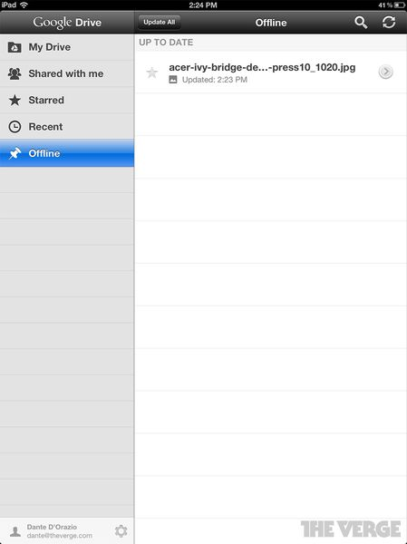 google drive for iphone drive for and iphone on the verge 5505