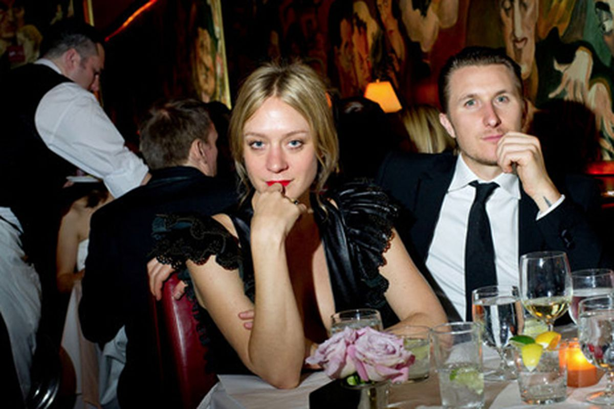 """She's gorgeous, she's cool, she's got real chops both as an actress and a designer?and yet, we still can't get over the Vincent Gallo thing. Image via <a href=""""http://www.nytimes.com/slideshow/2011/07/03/fashion/20110703_chloe-2.html"""">New York Times"""