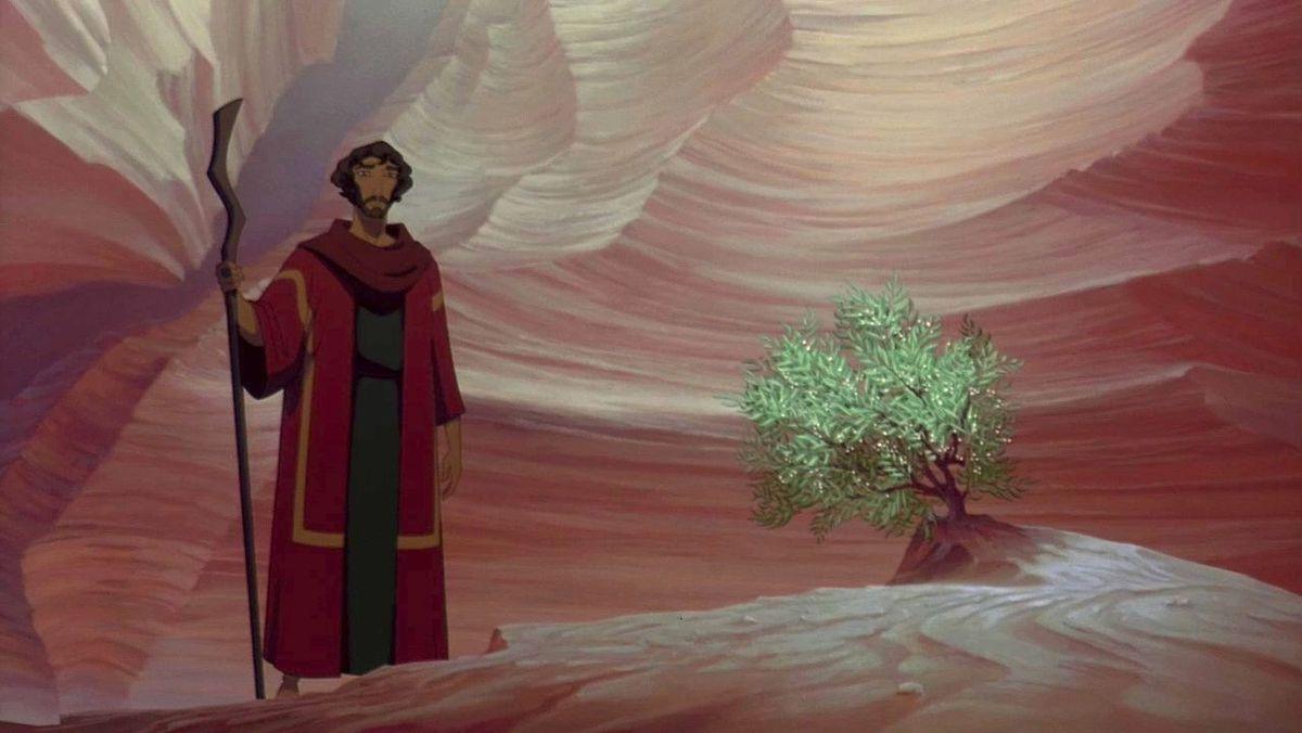 prince of egypt burning bush