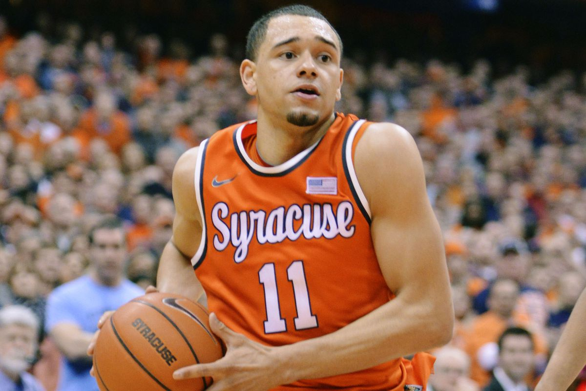outlet store 93973 868b5 NBA Draft 2014: Tyler Ennis may not declare, according to ...
