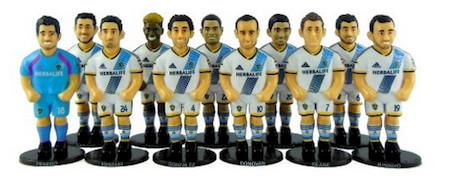 LA Galaxy foosball figures