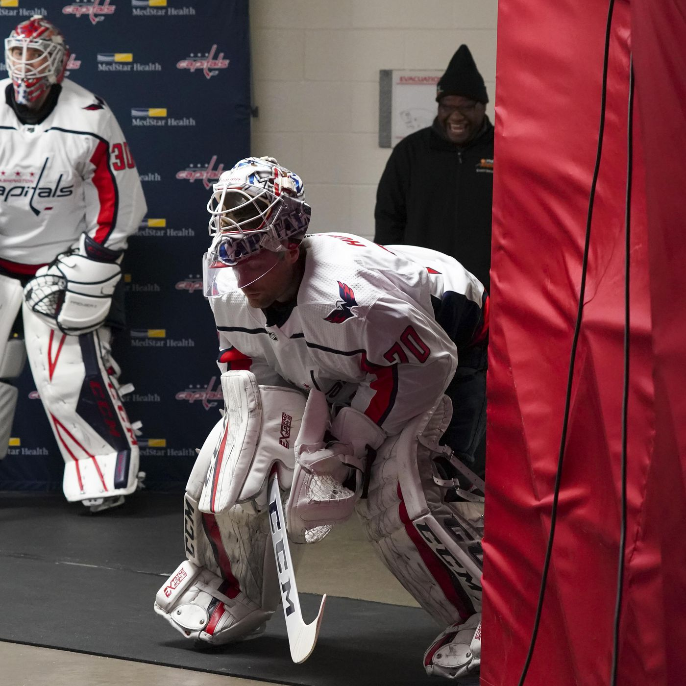 Braden Holtby And Bouncing Back Japers Rink