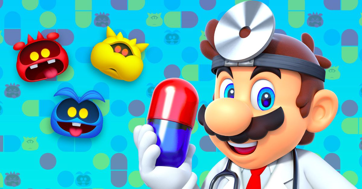 Image result for Nintendo's mobile Dr. Mario is coming out in a few weeks