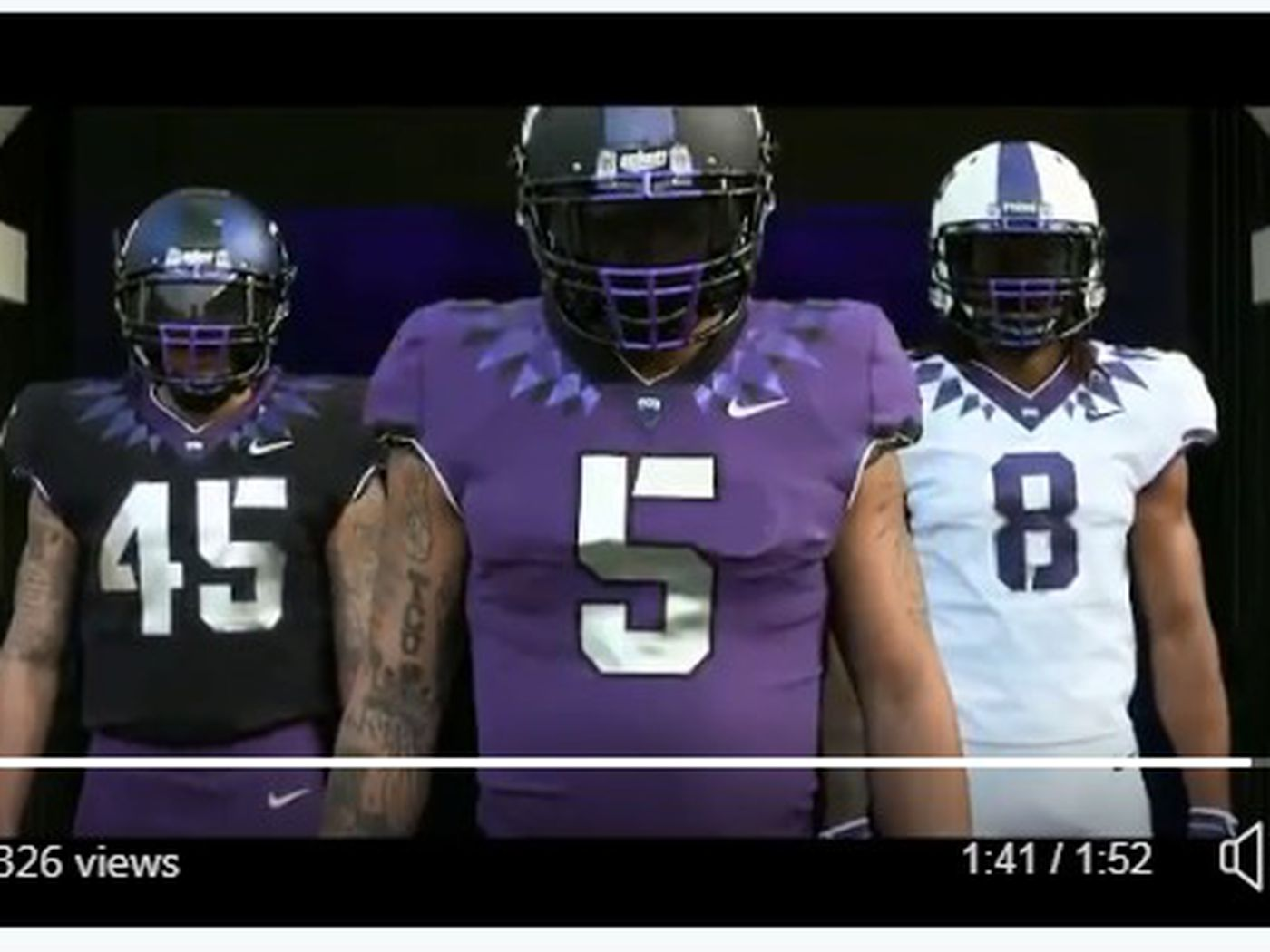 f77887fba TCU football released new uniforms and they re amazing - Frogs O  War