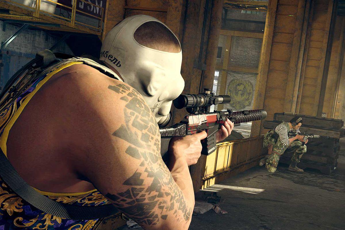 Call of Duty Modern Warfare Warzone Season 6 AS VAL