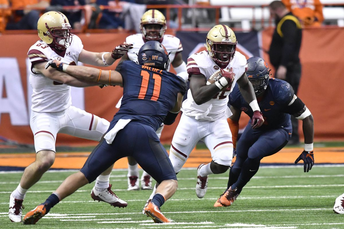 Syracuse Vs Boston College Tv Streaming Time Odds History More