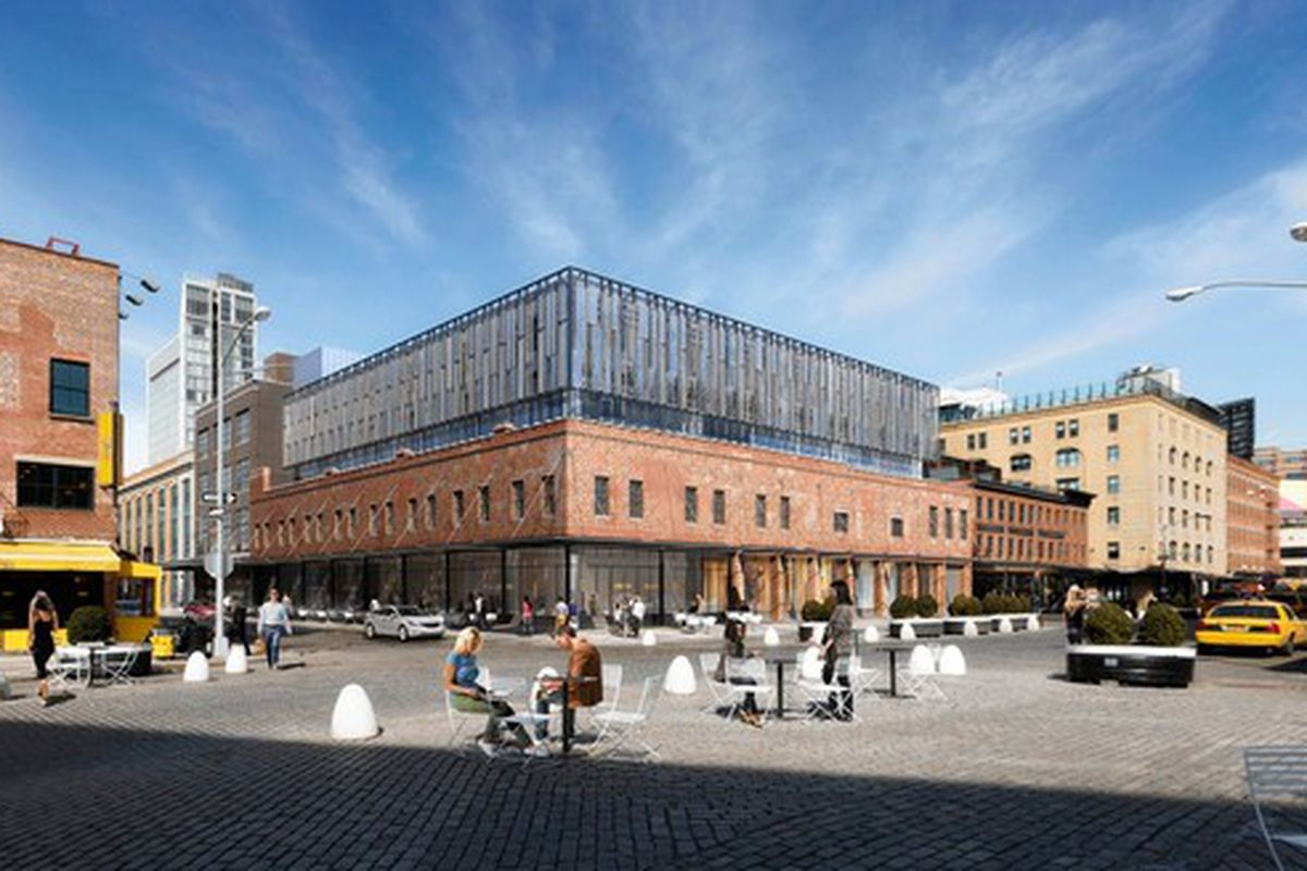 """Rendering: <a href=""""http://online.wsj.com/articles/new-entry-in-meatpacking-district-1413251657"""">WSJ</a>"""