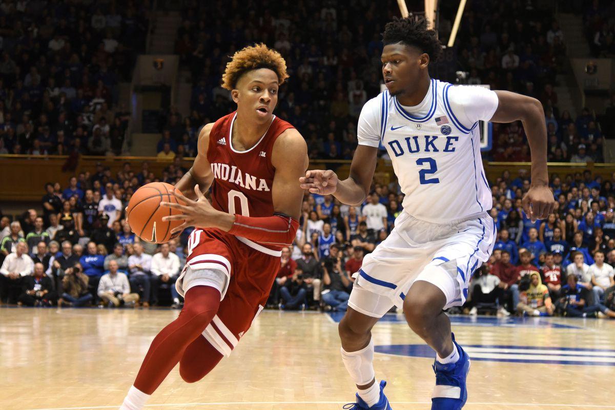NCAA Basketball: Indiana at Duke