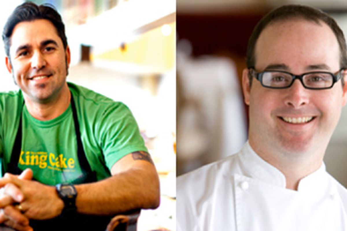 Virginia Chef David Guas (left) and Arkansas Chef Lee Richardson (right) will be participating in the Atlanta Food & Wine Festival May 10-13.
