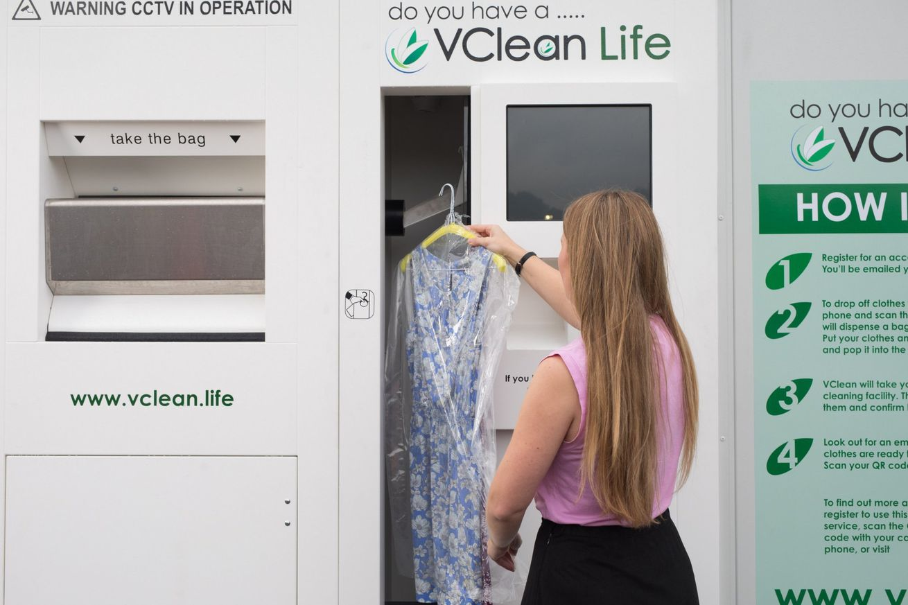 london underground stations are getting vending machines that ll clean your clothes