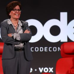 Recode editor at large Kara Swisher welcomes attendees to Code Conference 2018 at Terranea Resort in Rancho Palos Verdes, California.