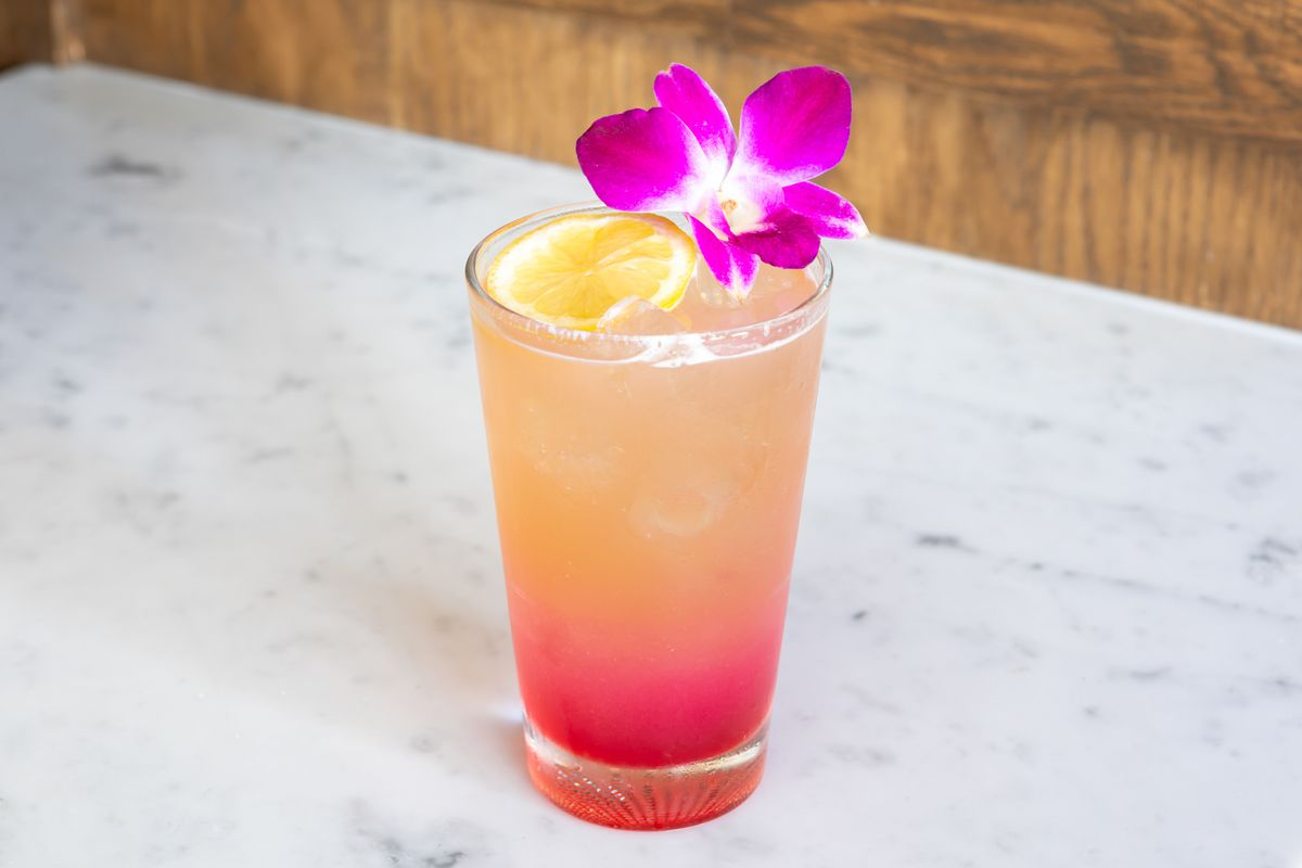 Cocktail at Luna