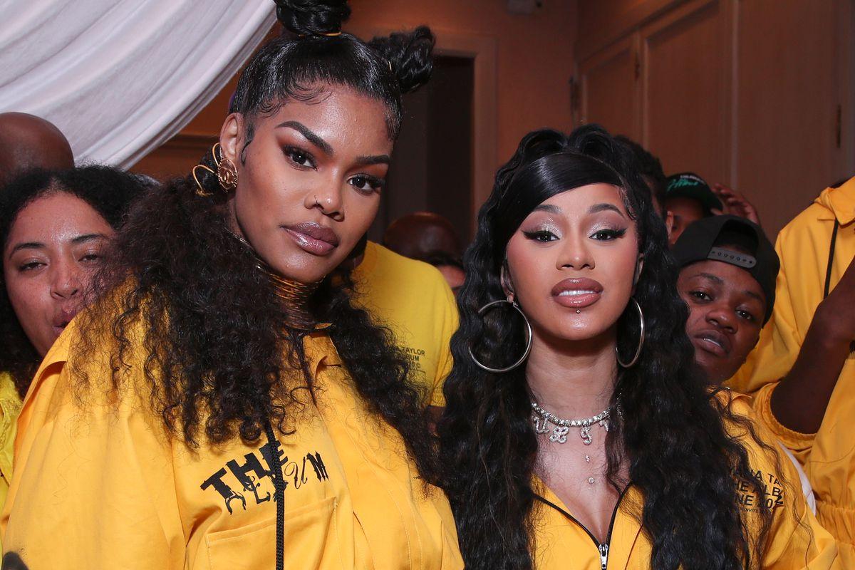 Cardi B and Teyana Taylor