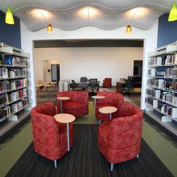 The Grantsville Public Library will be open to the public on Friday, March 29. The library was built with a low-interest loan paid for by mineral revenues derived from oil, natural gas and coal extraction.