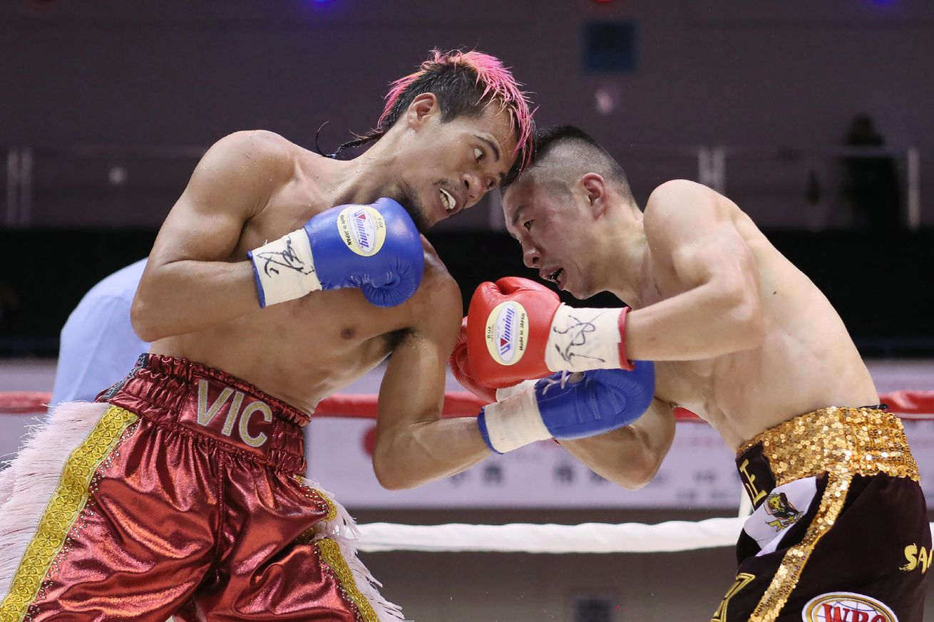GettyImages 997720918.0 - Saludar to face Taniguchi on Feb. 26