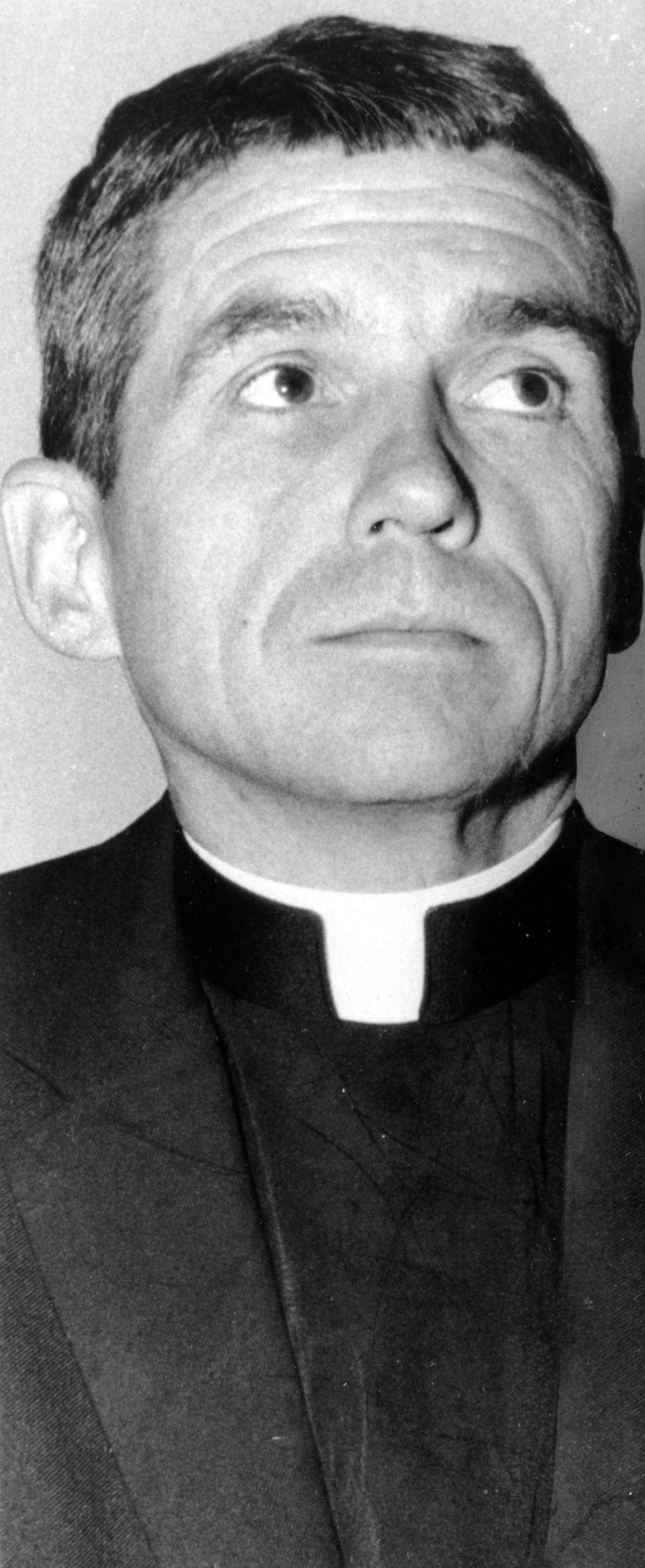 The Rev. Daniel Berrigan in December 1968. AP file photo