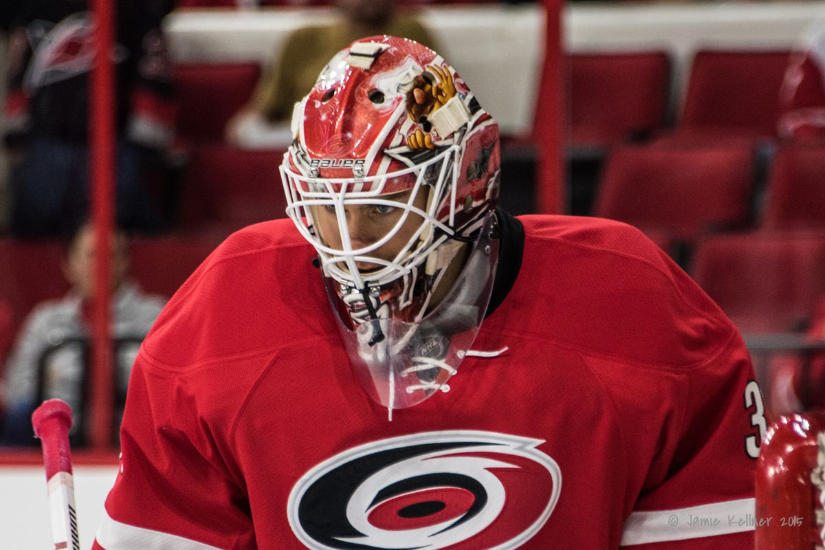 Eddie Lack gets his first start as a Hurricane tonight.