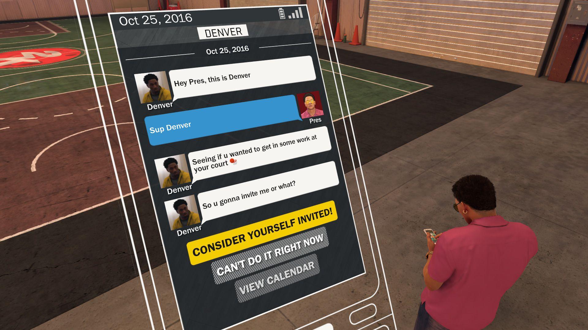 NBA 2K17 - MyCareer screenshots